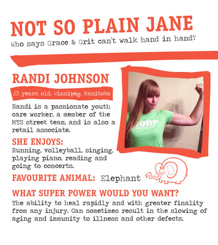 GORP Not So Plain Jane