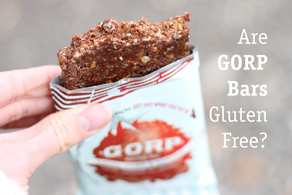 are gorp clean energy bars gluten free