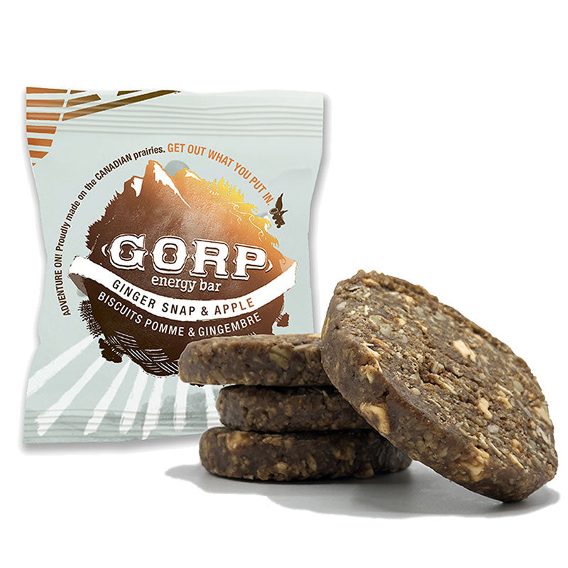 Ginger Snap & Apple GORP Bar