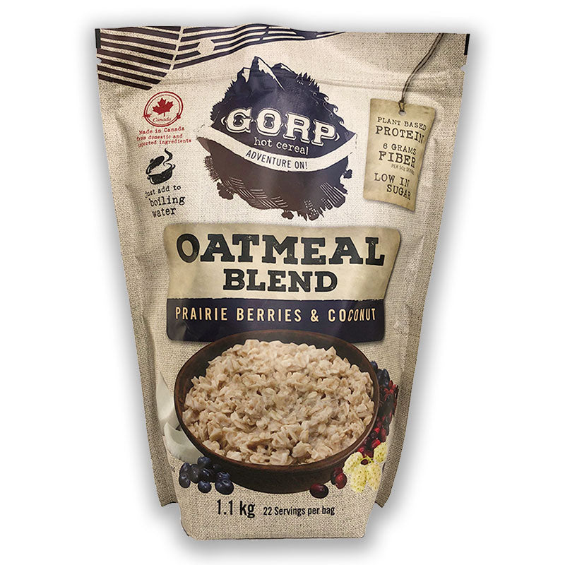 Prairie Berries & Coconut Oatmeal Blend.  By the 1.1 kilogram bag