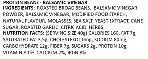 Protein Chips Balsamic Vinegar Nutrition Facts and Ingredients