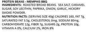 Memphis BBQ Protein Chips Ingredients and Nutrition Facts information