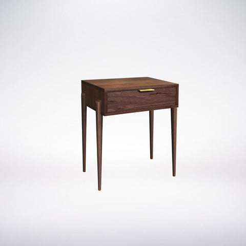 Solid Wood Side Table- Apollo