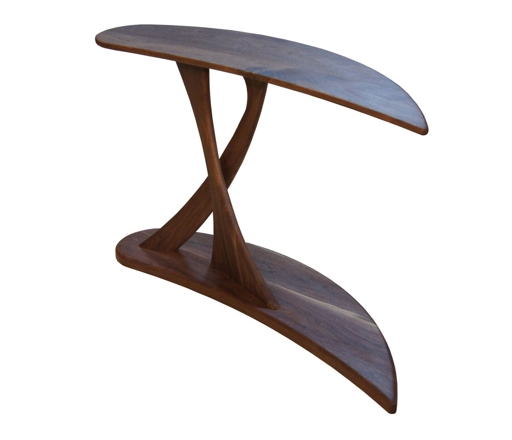 Cantilever Console Table made of Walnut Wood