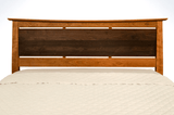 Solid Wood Enso Platform Bed Frame and Headboard.