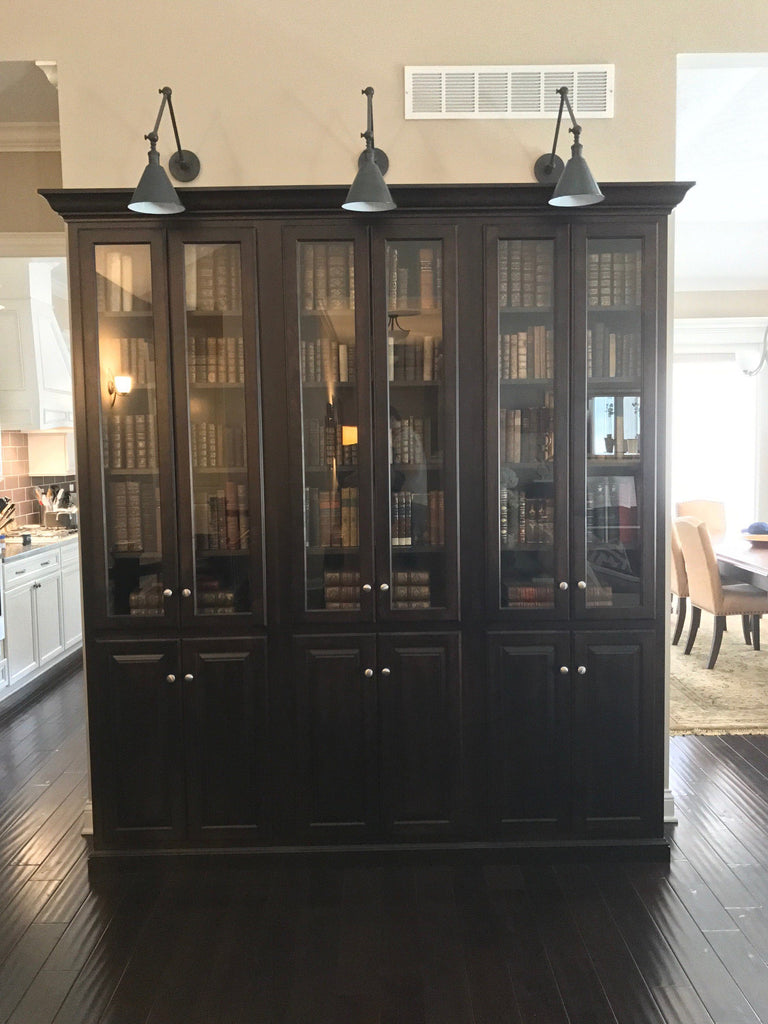 Custom Built In Bookcases