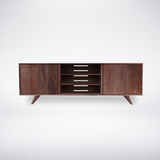 Modern Entertainment Console - Solid Wood Modern Furniture