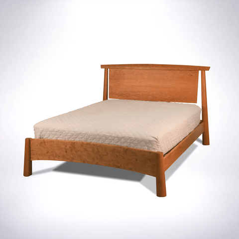 Solid wood Bed Organic green furniture