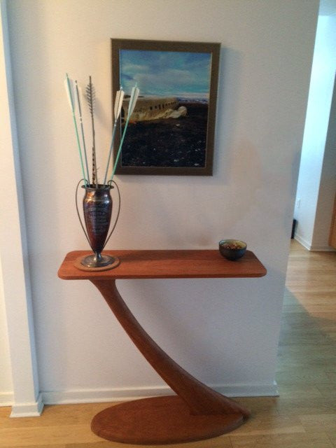 Cantilever Console Table