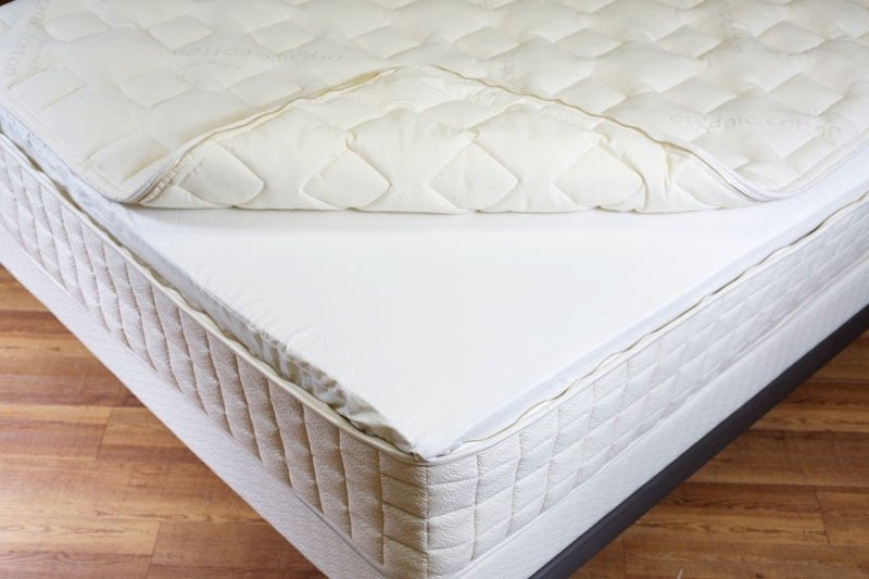Naturepedic EOS Classic  Mattress Coil Support Organic Latex Foam Wool and Cotton