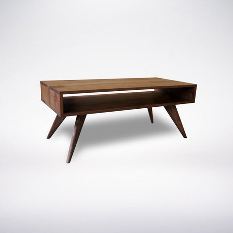 Mid Century Modern Coffee Table Walnut