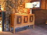 Custom  Console Table Solid Wood Handmade Organic