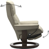 Stressless Consul Recliner with Ottoman