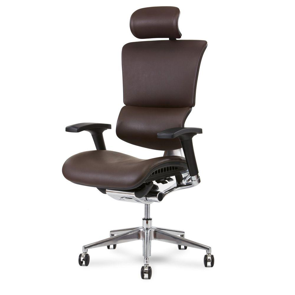 Office Chair- X4 Leather Management Office Desk Chair