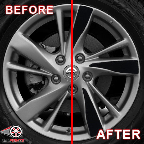 2013 Nissan Altima With Rims >> Nissan Altima (2013-2014) 17-Inch RP-1081 | Rim Prints Discount Rims Custom Wheel Design