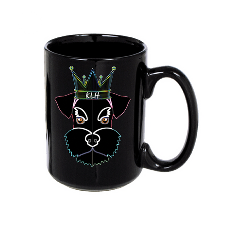 Royal Schnauzer: Black Mug
