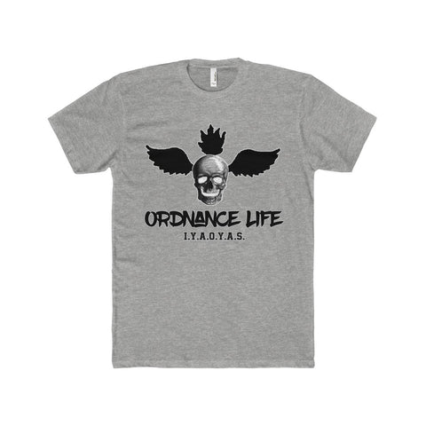Ordnance Life: Men's Premium Fitted Short-Sleeve Crew Neck T-Shirt - KLH Collection