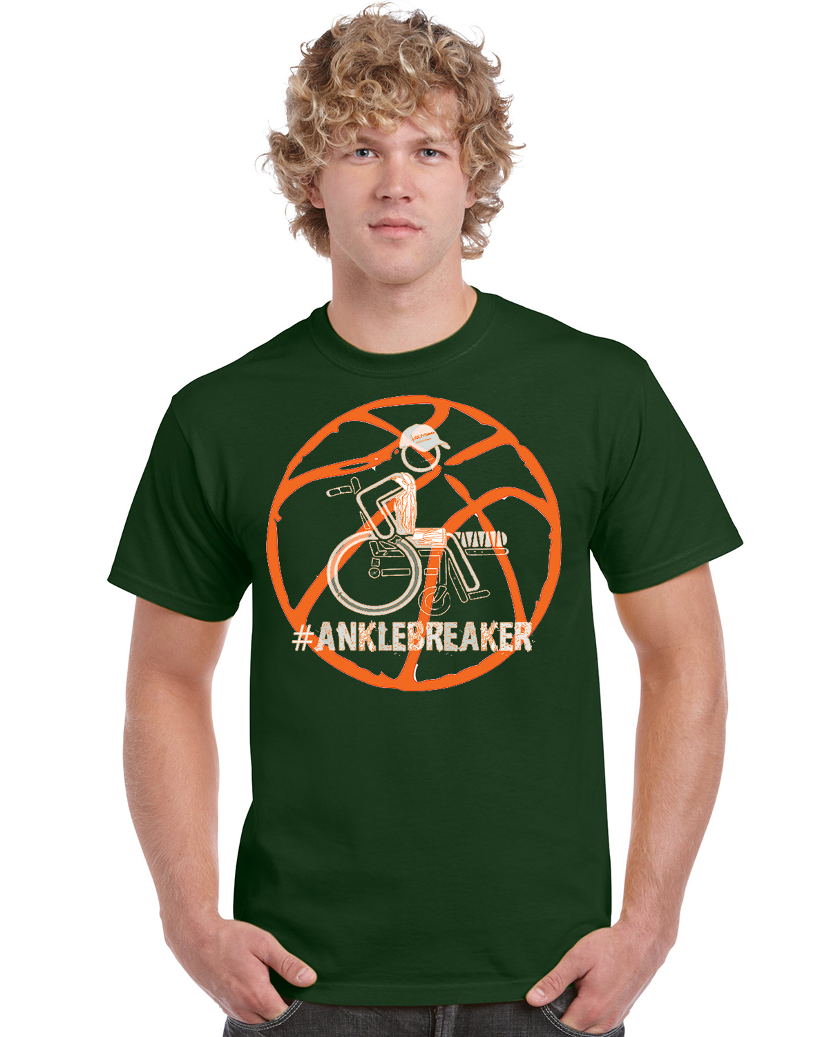 Men's #Anklebreaker Basketball Ultra Cotton Tee