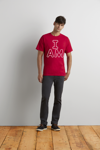 "Men's ""I Am"" Ultra Cotton Tee - KLH Collection"