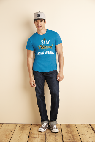 "Men's ""Stay Blessed"" Ultra Cotton Tee - KLH Collection"