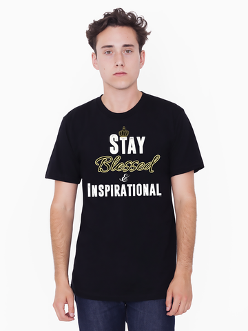 "Men's ""Stay Blessed"" Tall Tee - KLH Collection"