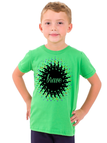 brave unisex tee for little kids klh collection - Little Kids Pictures