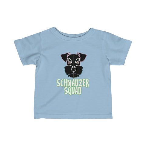 Schnauzer Squad Infant Fine Jersey Tee - KLH Collection