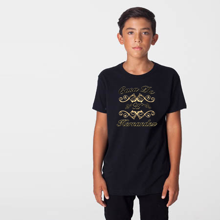 """House of"" Unisex Tee For Big Kids - KLH Collection"