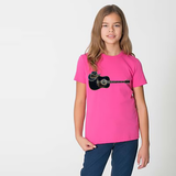 Unisex Guitar and Hat Tee for Big Kids - KLH Collection