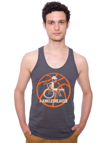Men's #Anklebreaker Basketball Tank - KLH Collection