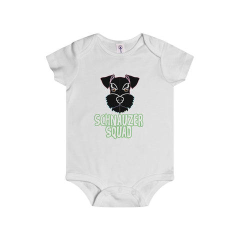 Schnauzer Squad Infant Rip Snap Tee - KLH Collection