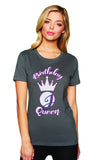Birthday Queen: Boyfriend Tee For Ladies