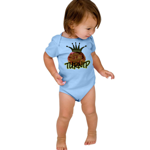"""Turnip"" Unisex  One Piece For Babies - KLH Collection"