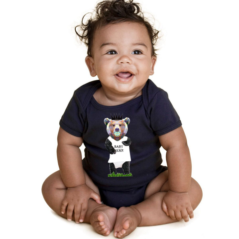 """Baby Bear"" One Piece For Babies - KLH Collection"