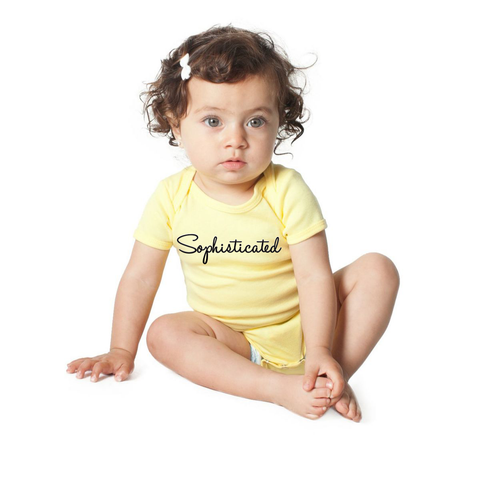 """Sophisticated"" One Piece For Babies - KLH Collection"