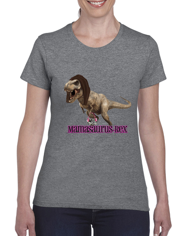 """Mamasaurus Rex"" Tee For Ladies - KLH Collection"