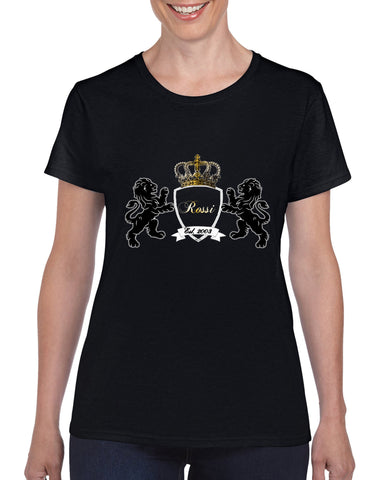 """KLH Coat of Arms"" Cotton Tee For Ladies - KLH Collection"