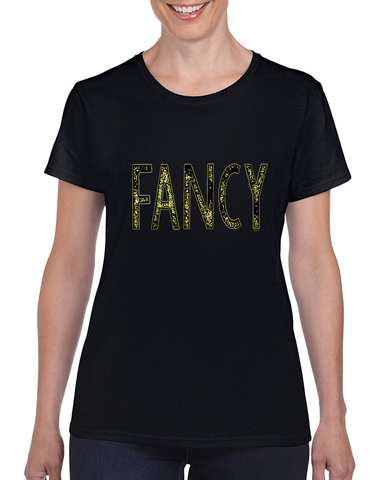 """Fancy"" Heavy Cotton Tee For Ladies - KLH Collection"