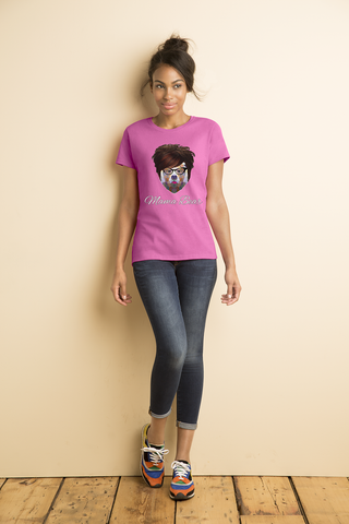 """Mama Bear"" Heavy Cotton Tee For Ladies - KLH Collection"