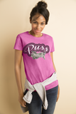 "Ladies' ""Puss"" Heavy Cotton Tee - KLH Collection"