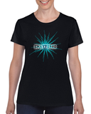 Shattered Scoop Neck Tee For Ladies - KLH Collection