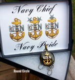 Military Insignia Necklace - KLH Collection - 7