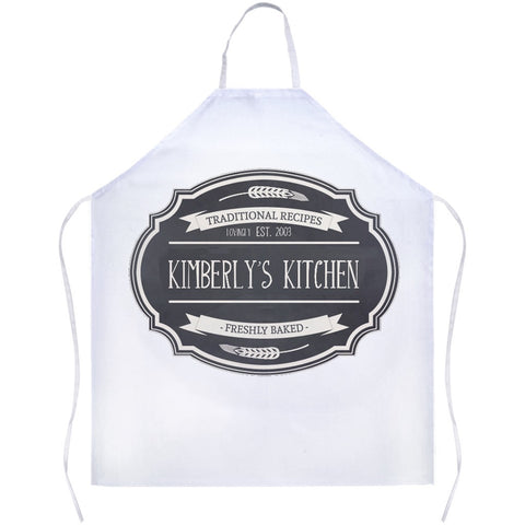 Kitchen Apron: Customizable