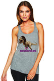 """Mamasaurus Rex"" Racerback Tank for Ladies - KLH Collection"