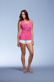 "Ladies' ""Protected By"" Missy Fit Tank - KLH Collection"