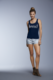 "Ladies'""Loved"" Missy Fit Tank - KLH Collection"
