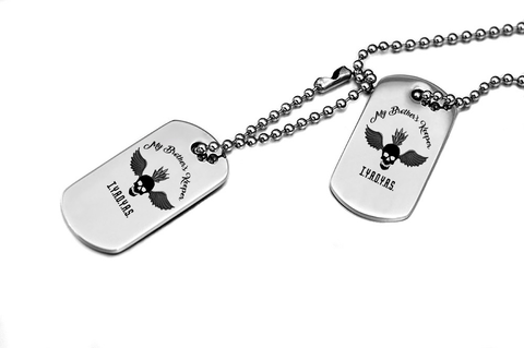 My Brother/Sister's Keeper Dog Tag Necklace