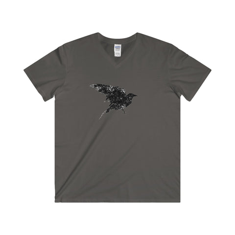 Raven: Softstyle®  V-Neck T-Shirt For Ladies