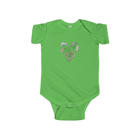 Follow Your Heart: Onesie for Babies