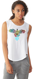 Watercolor Eagle Tee For Ladies - KLH Collection
